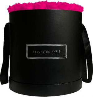 Collection Infinity Hot Pink Luxe noir - rond