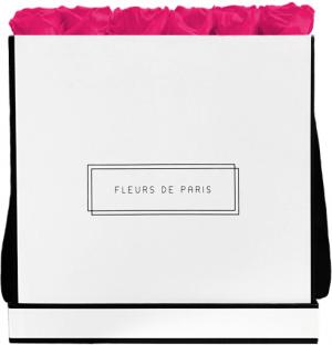 Collection Infinity Hot Pink Luxe blanc - anguleux