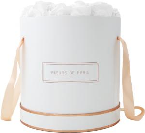 Collection Rosé Gold Pure White Petit Luxe blanc - rond