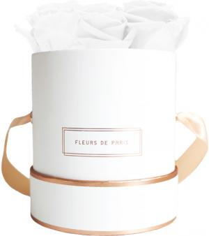 Collection Rosé Gold Pure White Petit blanc - rond